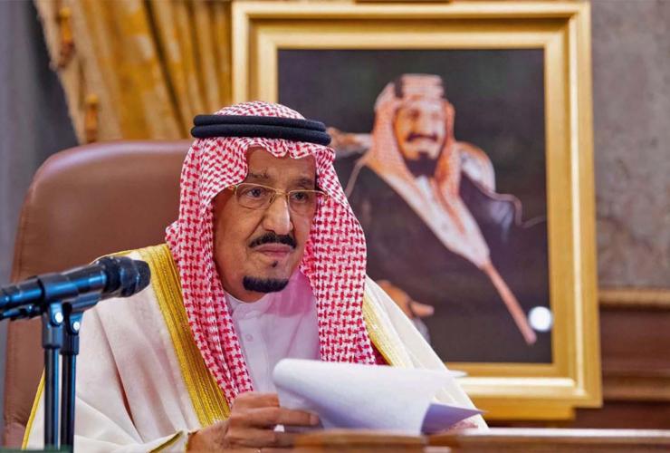 King Salman Briefed The Saudi Cabinet