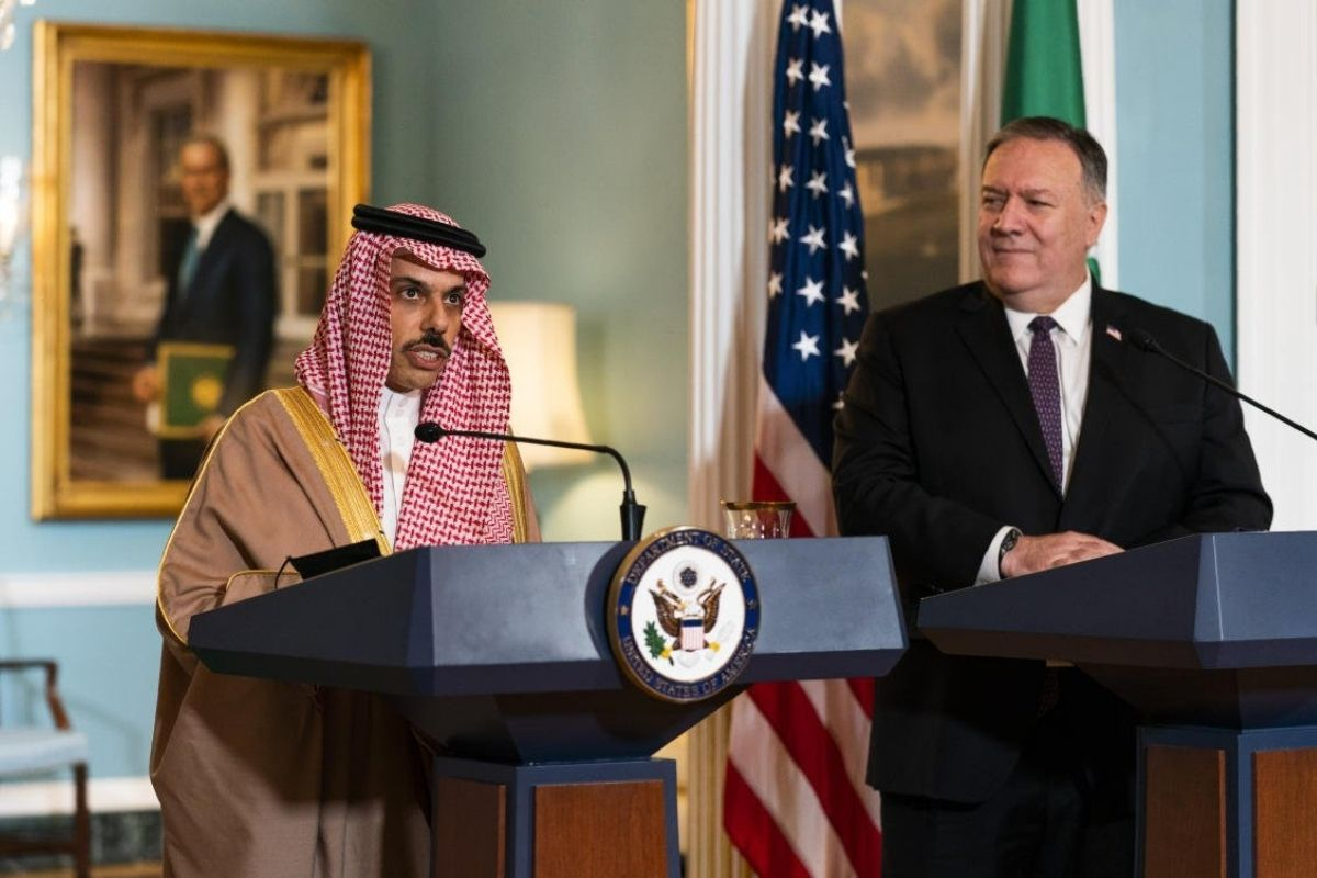 Saudi Arabia Strengthens Relations With US To Counter Iran Threat